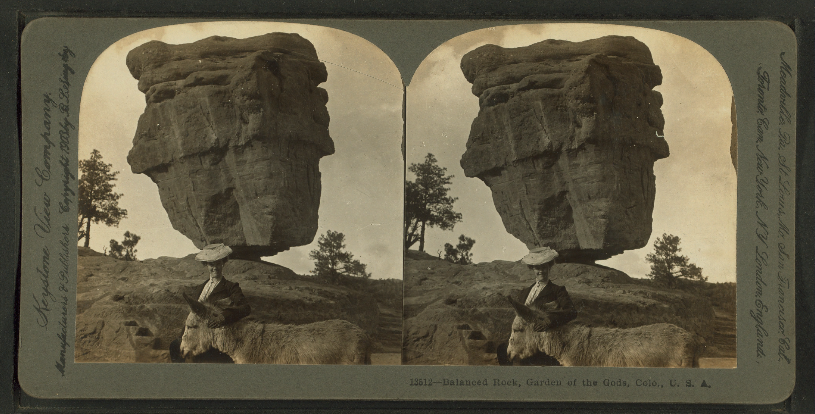 File Balanced Rock Garden Of The Gods Colo U S A From
