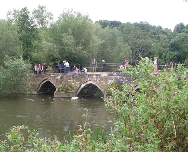 Barton Park Packhorse Bridge - geograph.org.uk - 942621
