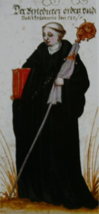Benedictine monk