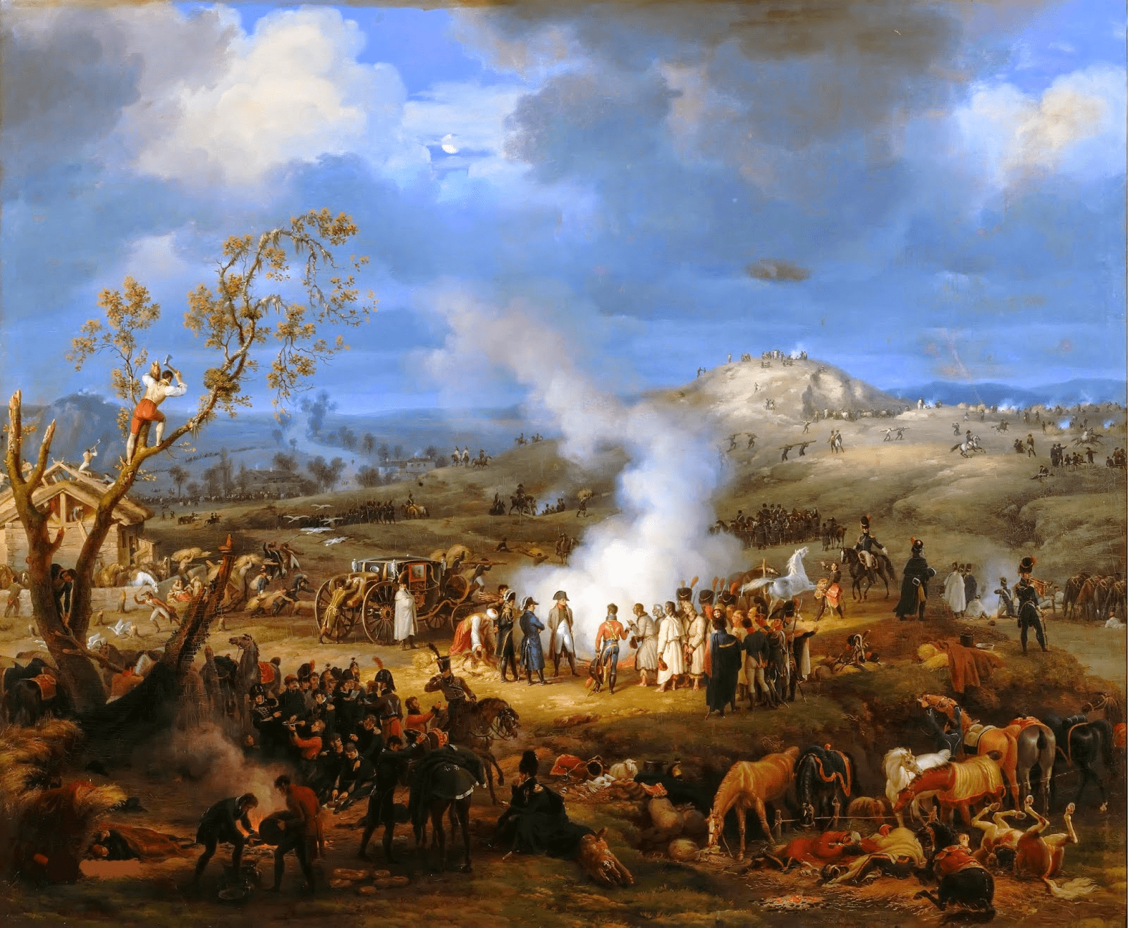 File:Bivouac on the Eve of the Battle of Austerlitz, 1st December 1805.PNG