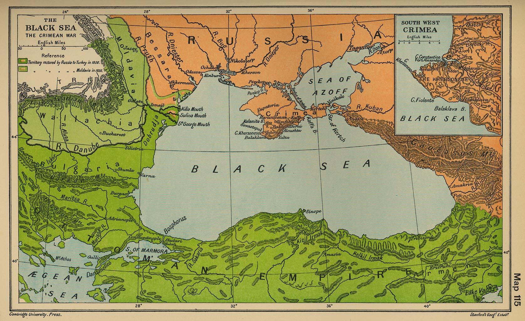 Guerra de Crimea - Mar Negro