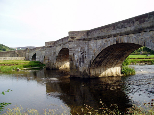 Burnsall Bridge, Wharfedale, Yorkshire - geograph.org.uk - 853773