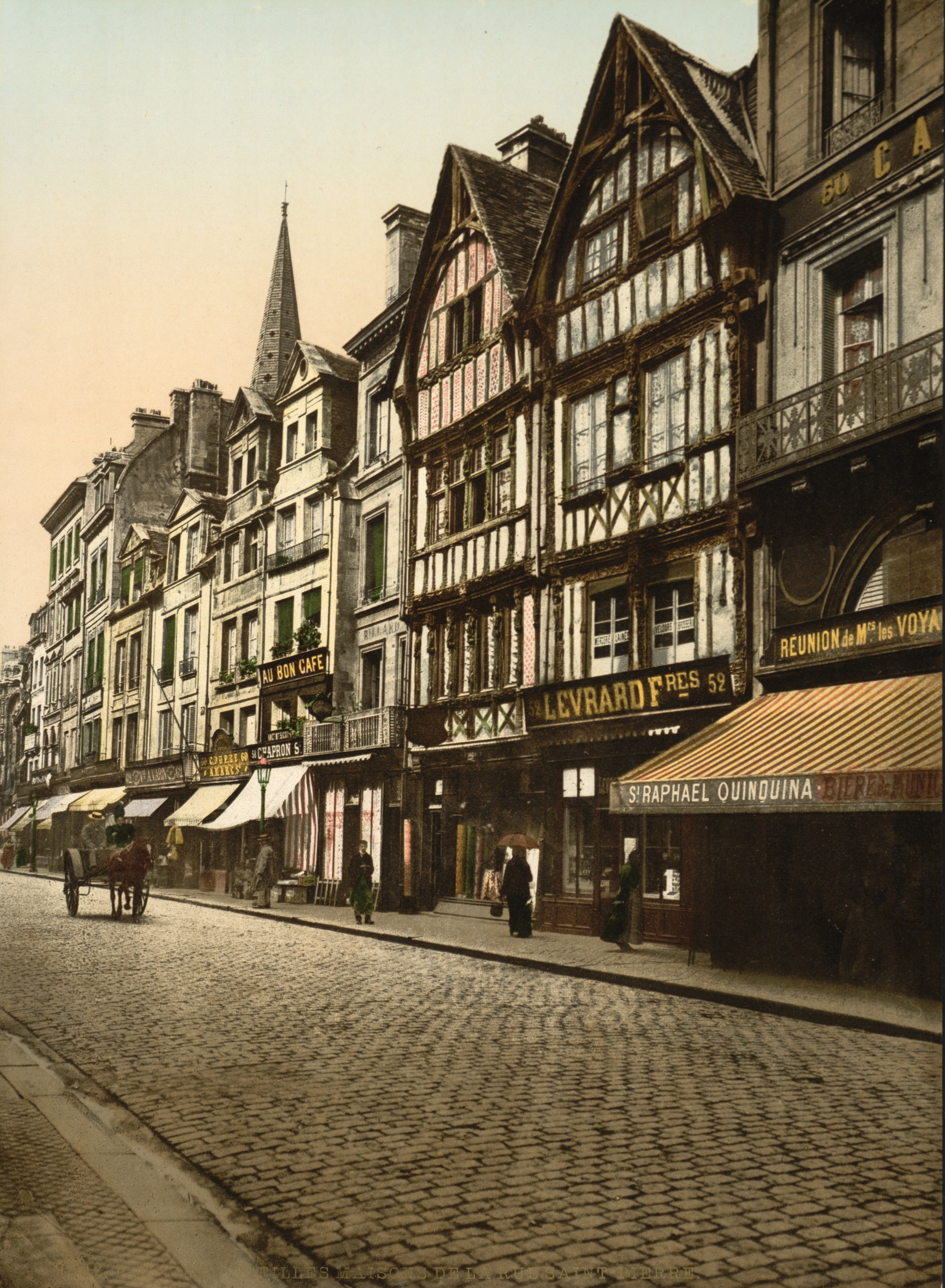 File caen ruesaintpierre wikimedia commons - Rue saint laurent caen ...
