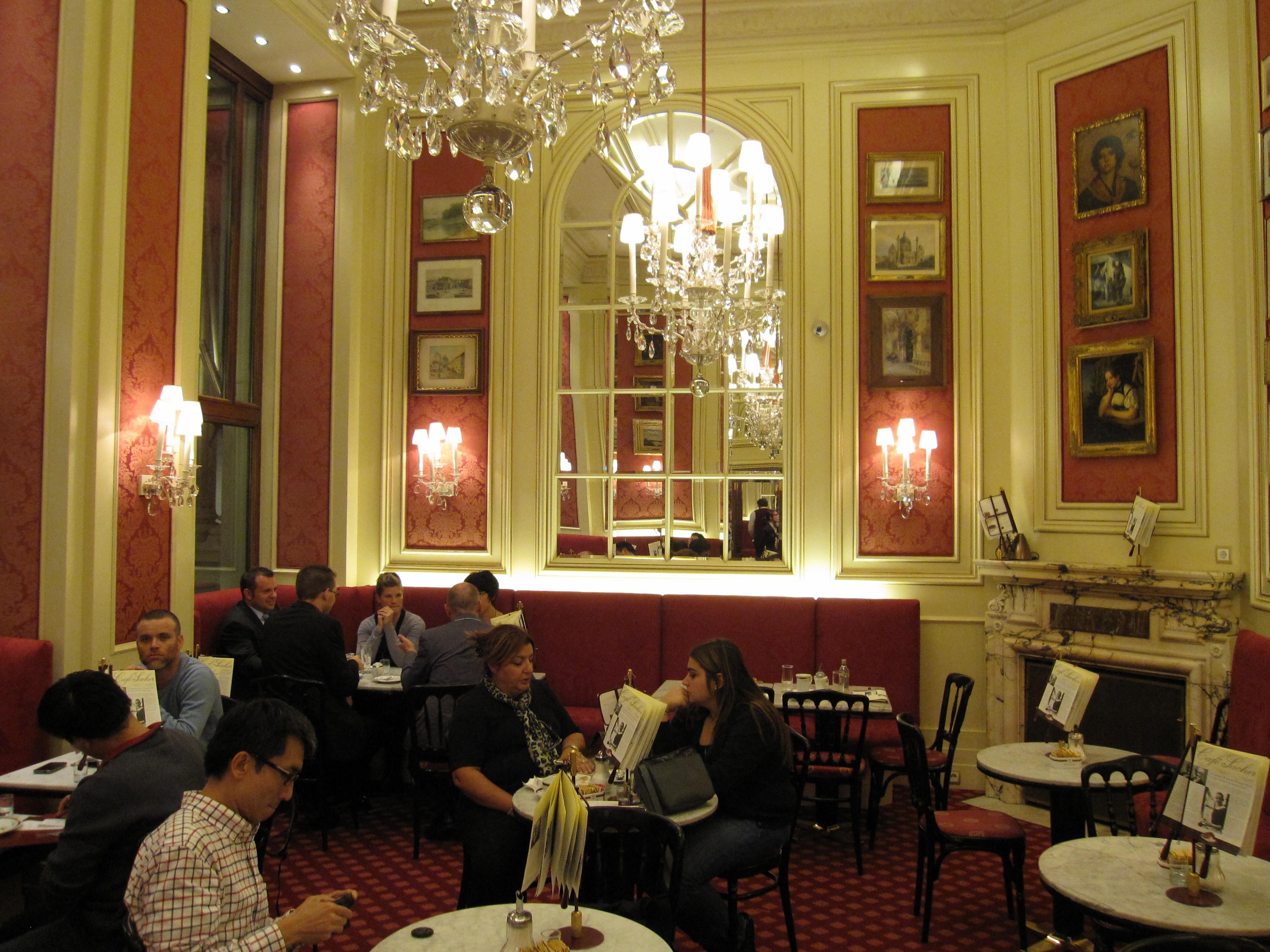 Sacher Hotel Vienna Restaurant