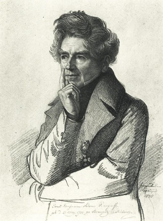 Portrait by [[Carl Christian Vogel von Vogelstein]] (1840)