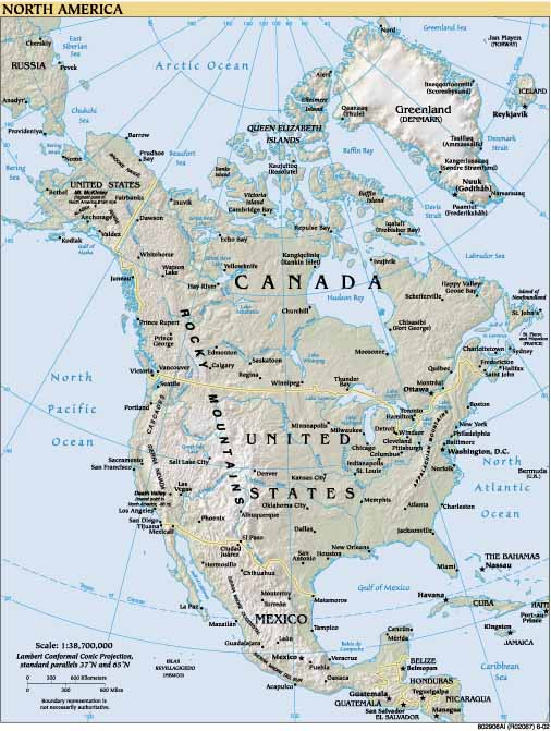 America Settentrionale Cartina.File Cartina Fisica Dell America Del Nord Jpg Wikipedia