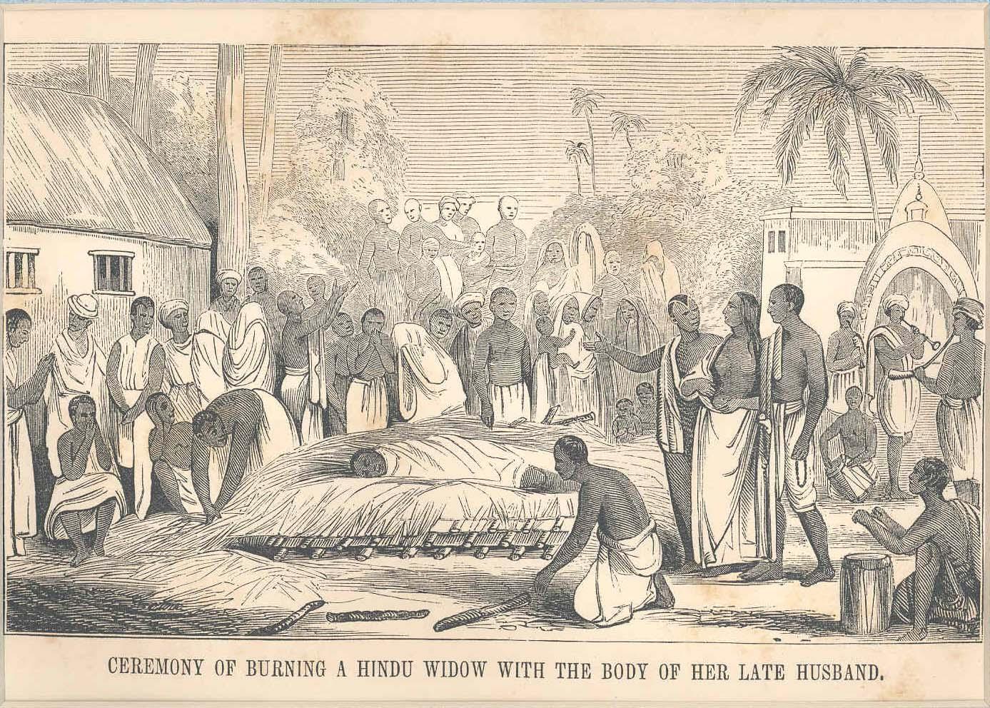 hindu widow