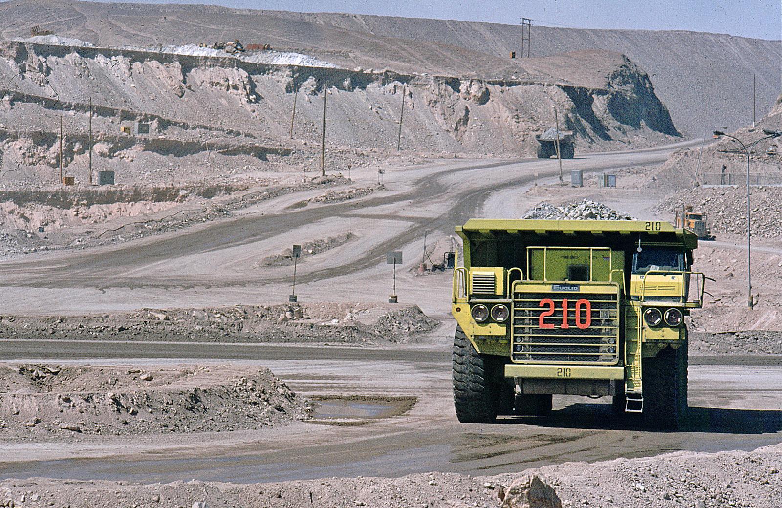 Chuquicamata copper mine in 2007