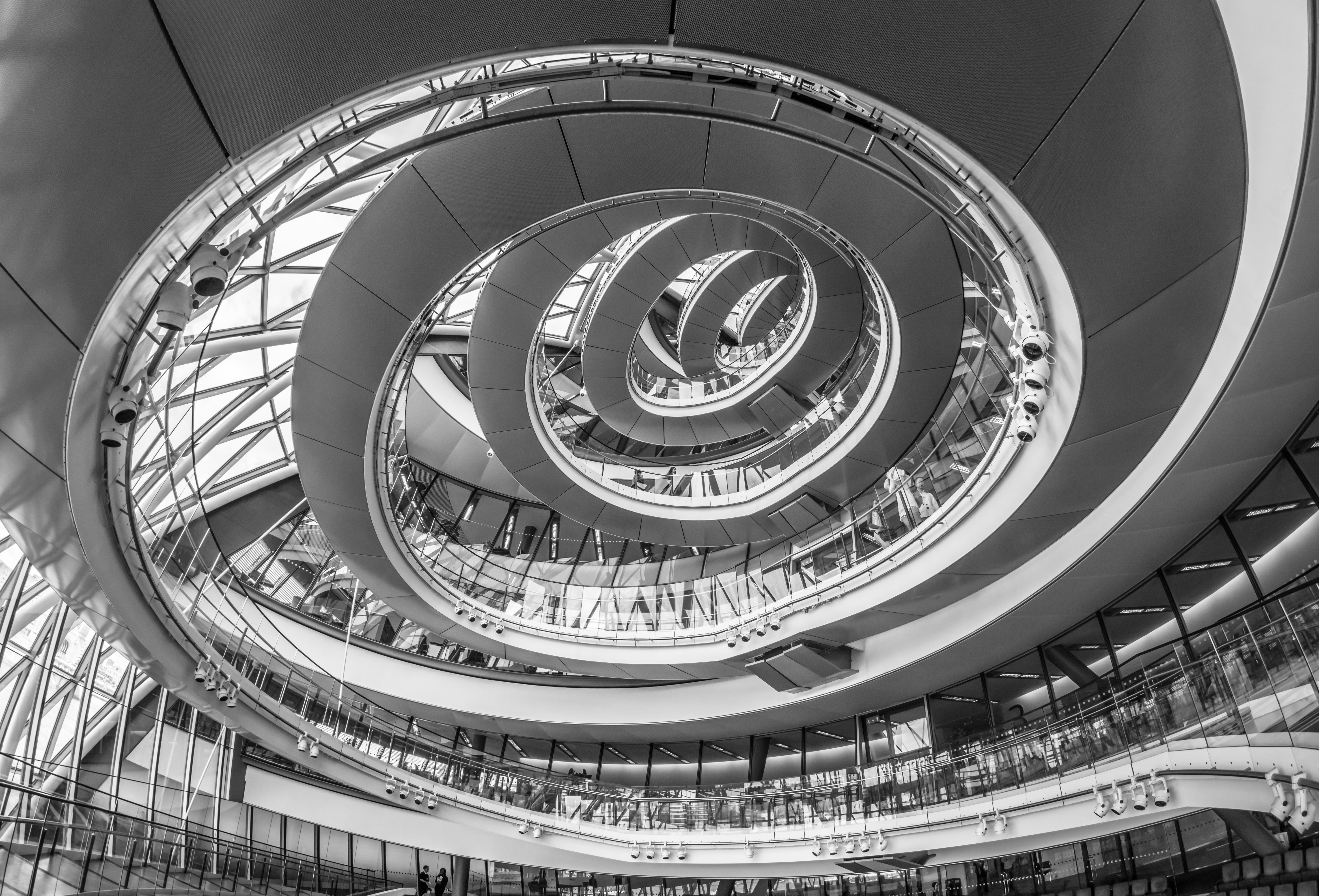 File:City Hall, London, Spiral Staircase - 1 jpg - Wikimedia