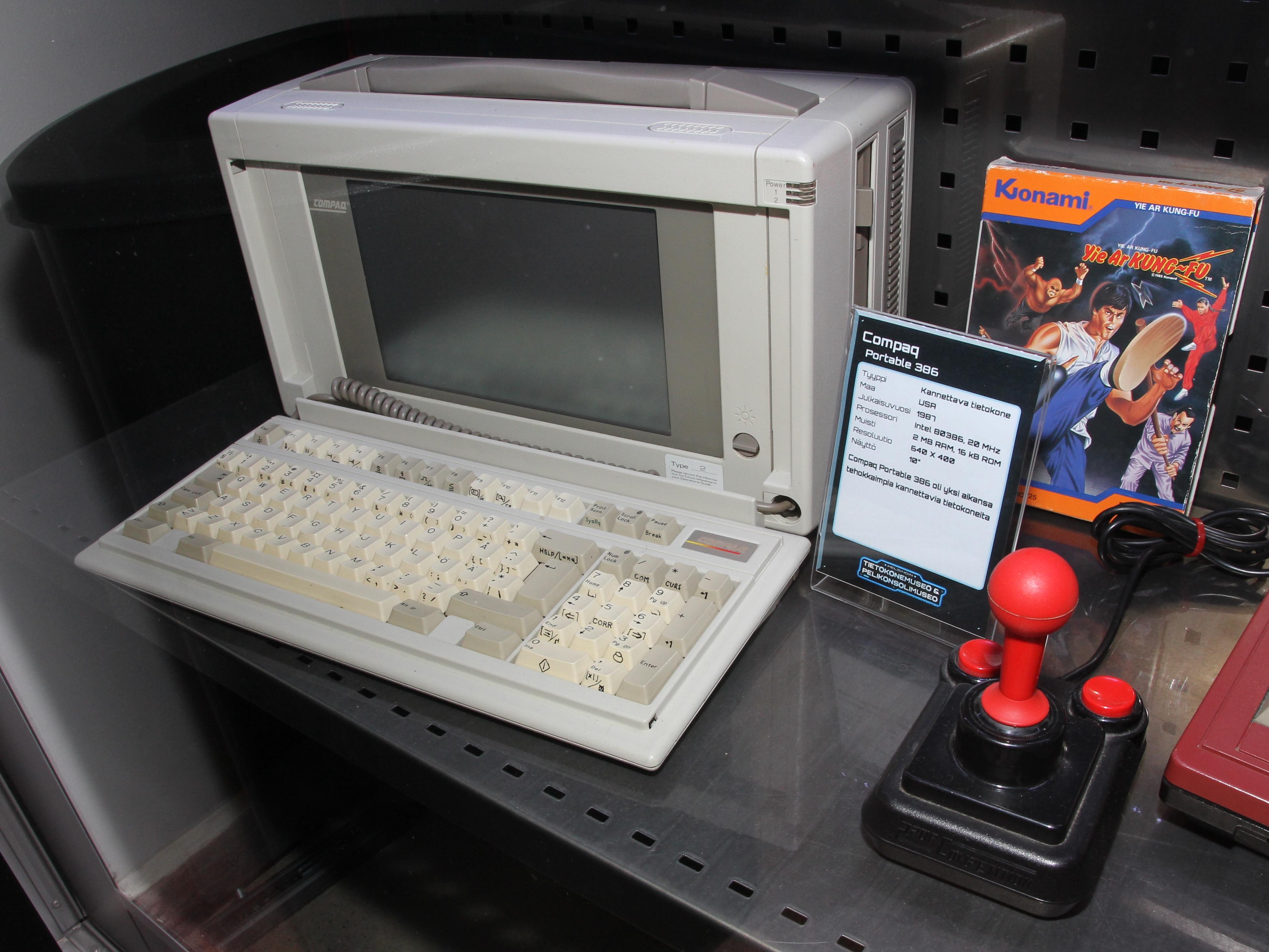 Tietokone Laukku 17 : File compaq portable tietokonemuseo g wikimedia