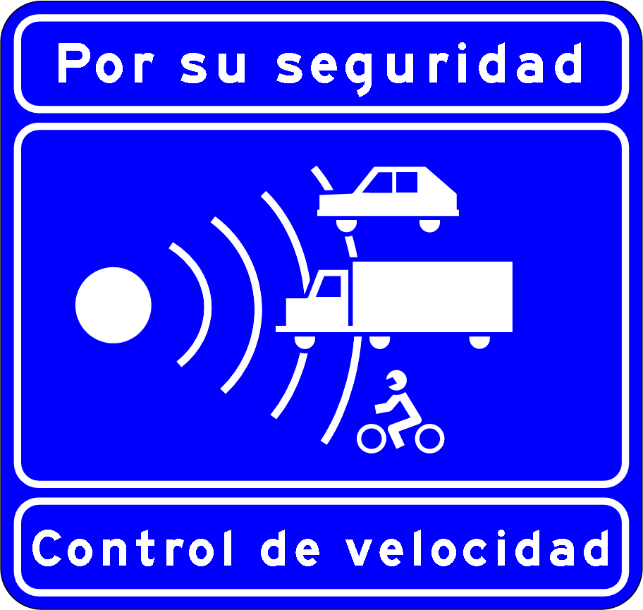 File control de velocidad autovia o for De signs