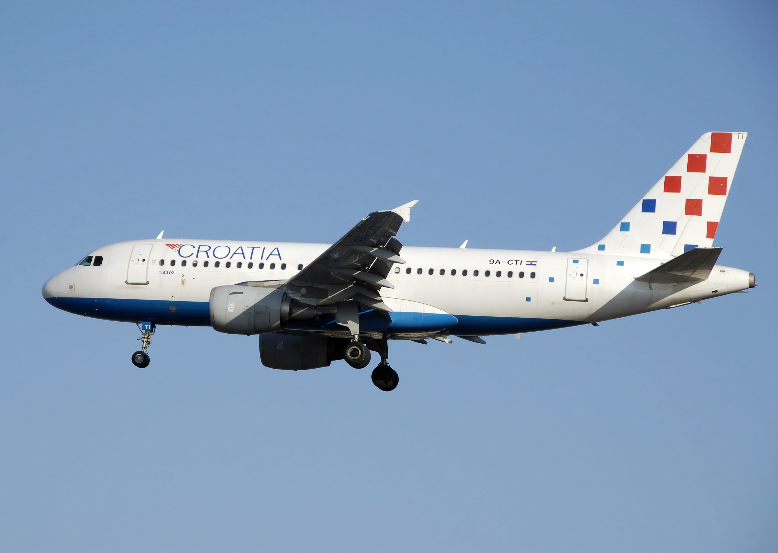 Avion Kroatia Airlines (Croatia Airlines). Sayt.2 officiel