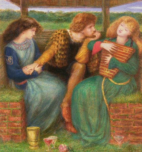 The Merciless Lady (Dante Rossetti, 1865)