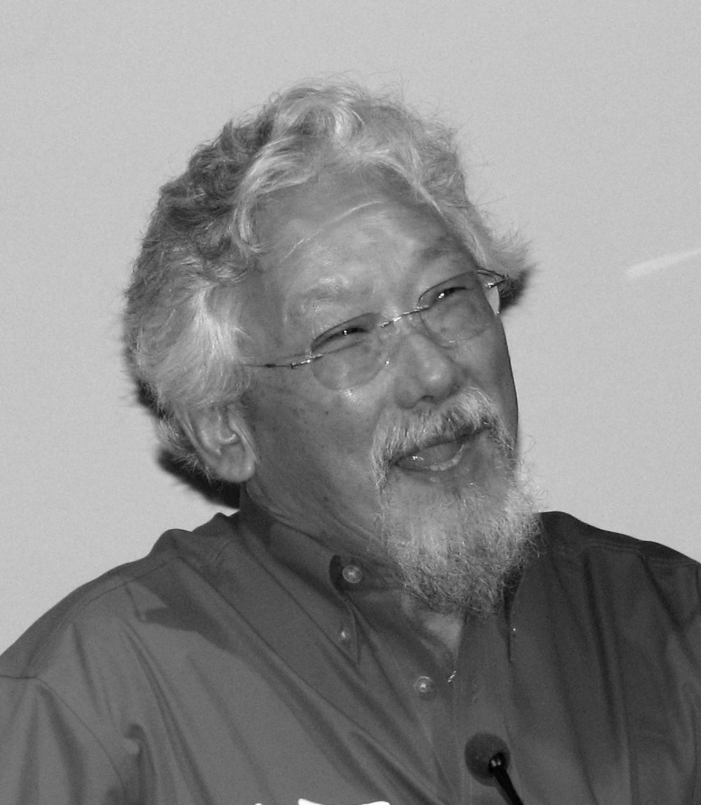 Poet David Suzuki