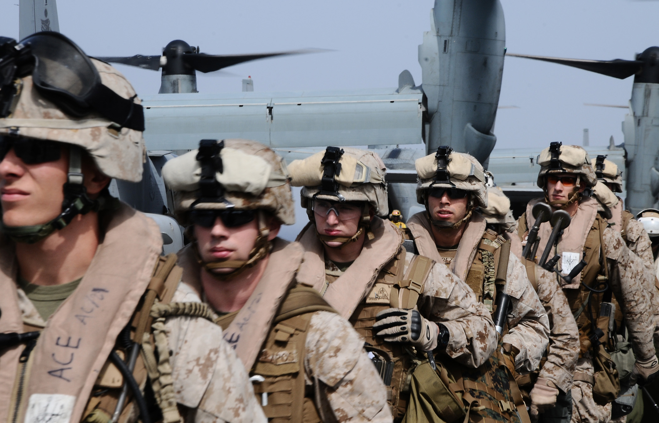 Defense.gov_News_Photo_110604-N-EC658-028_-_Marines_assigned_to_the_22nd_Marine_Expeditionary_Unit_prepare_to_conduct_training_exercises_aboard_the_multipurpose_amphibious_assault_ship_USS.jpg
