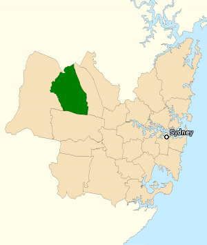 Division of Chifley 2010.png