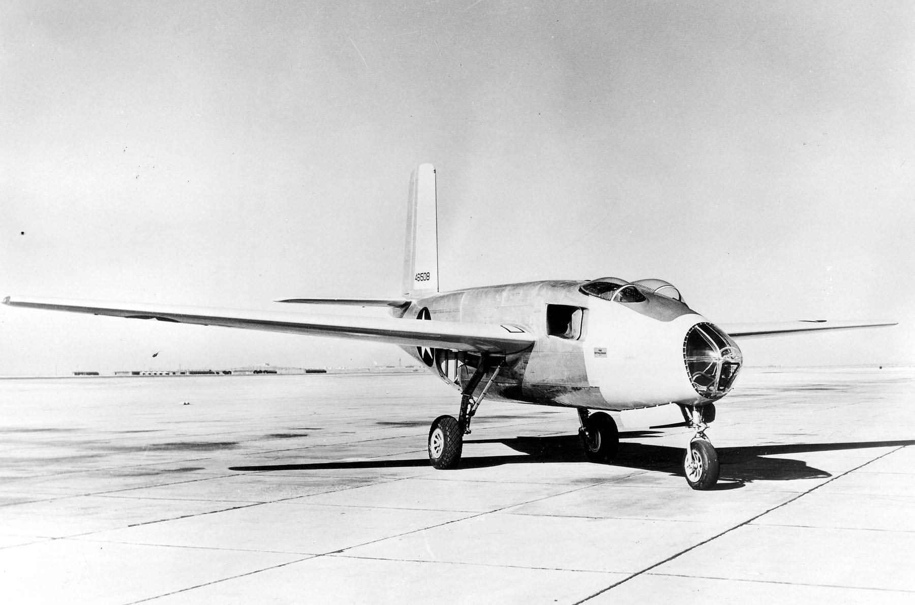 Douglas XB-43 parked.jpg