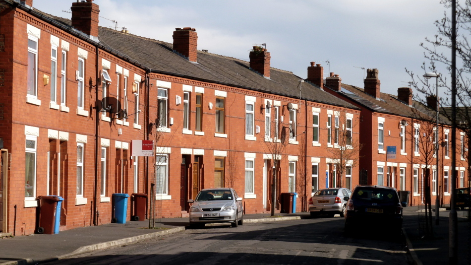 Terraced houses in the united kingdom wikipedia for What does terrace mean