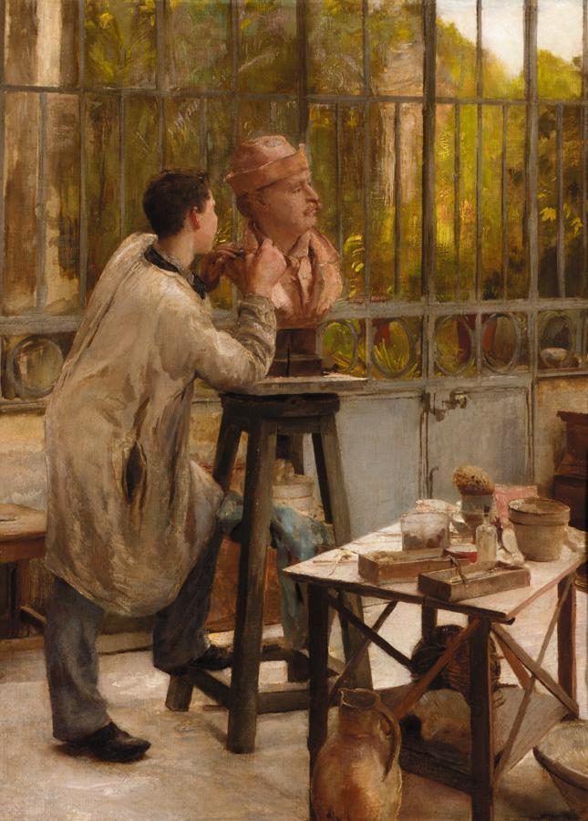 Edouard Dantan L'Atelier du Sculpteur