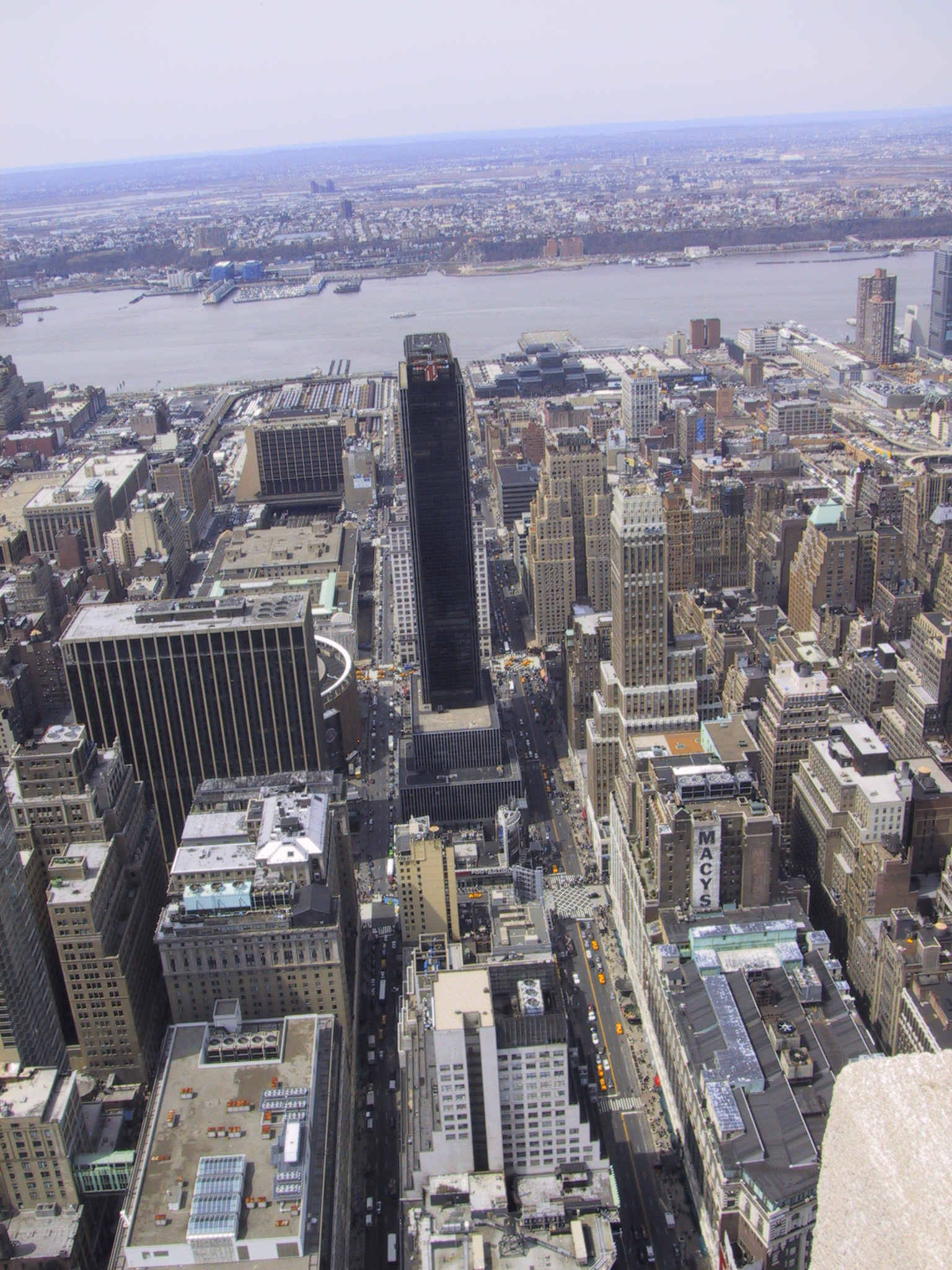 How tall is the Empire State Building? - YouTube