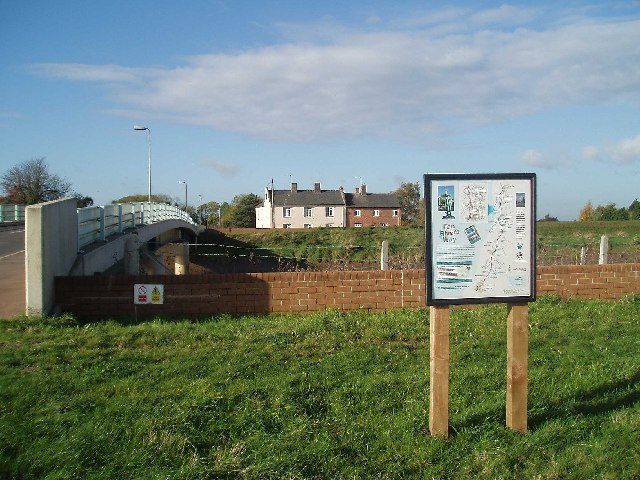 Fen Rivers Way sign. - geograph.org.uk - 73110