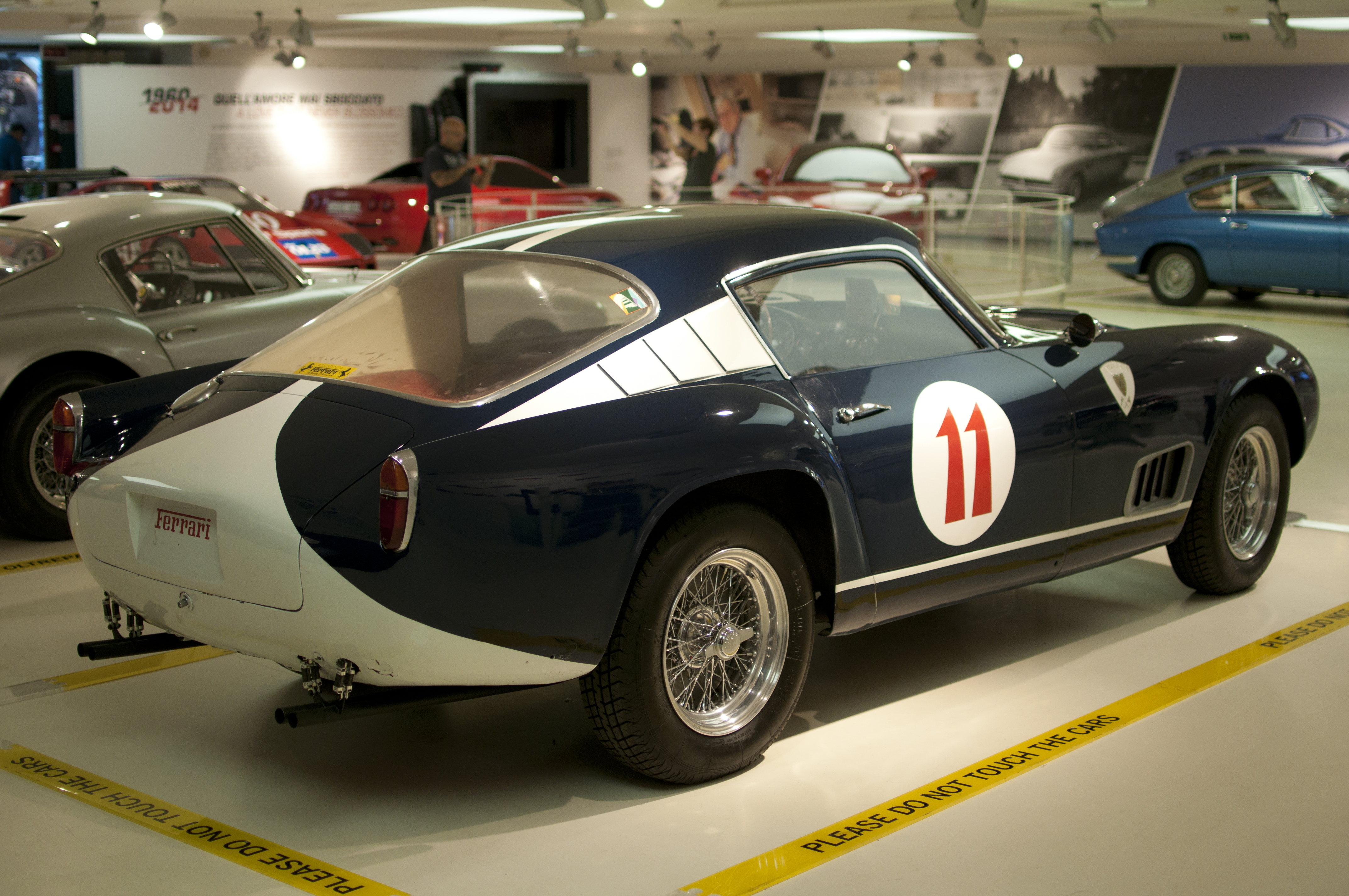 Datei Ferrari 250 Gt Tour De France Museo Ferrari 18111116086 Jpg Wikipedia