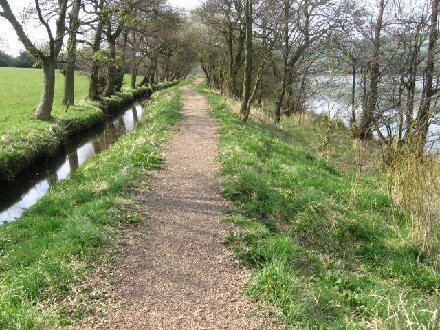 Footpath between Meveril Brook and Combs Reservoir - geograph.org.uk - 1263122