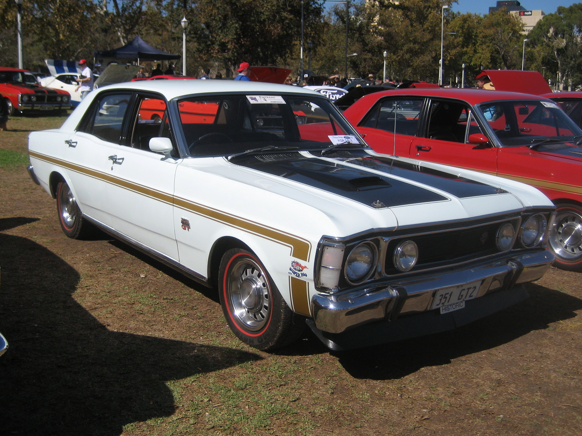 File Ford XW Falcon 500 Sedan with Grand Sport rally option package likewise N8F8267Z3MC5O26D furthermore 6048687265 also Street Machine September 2017 Preview Hk Monaro Xw Falcon Ute Vn Ss  modore likewise Detail. on ford xw falcon