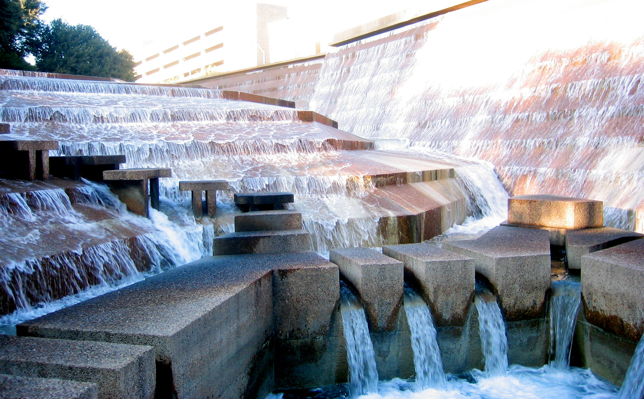 Merveilleux File:Fort Worth Water Gardens