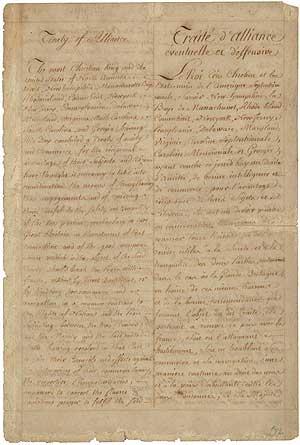 Treaty Of Alliance 1778 Wikipedia