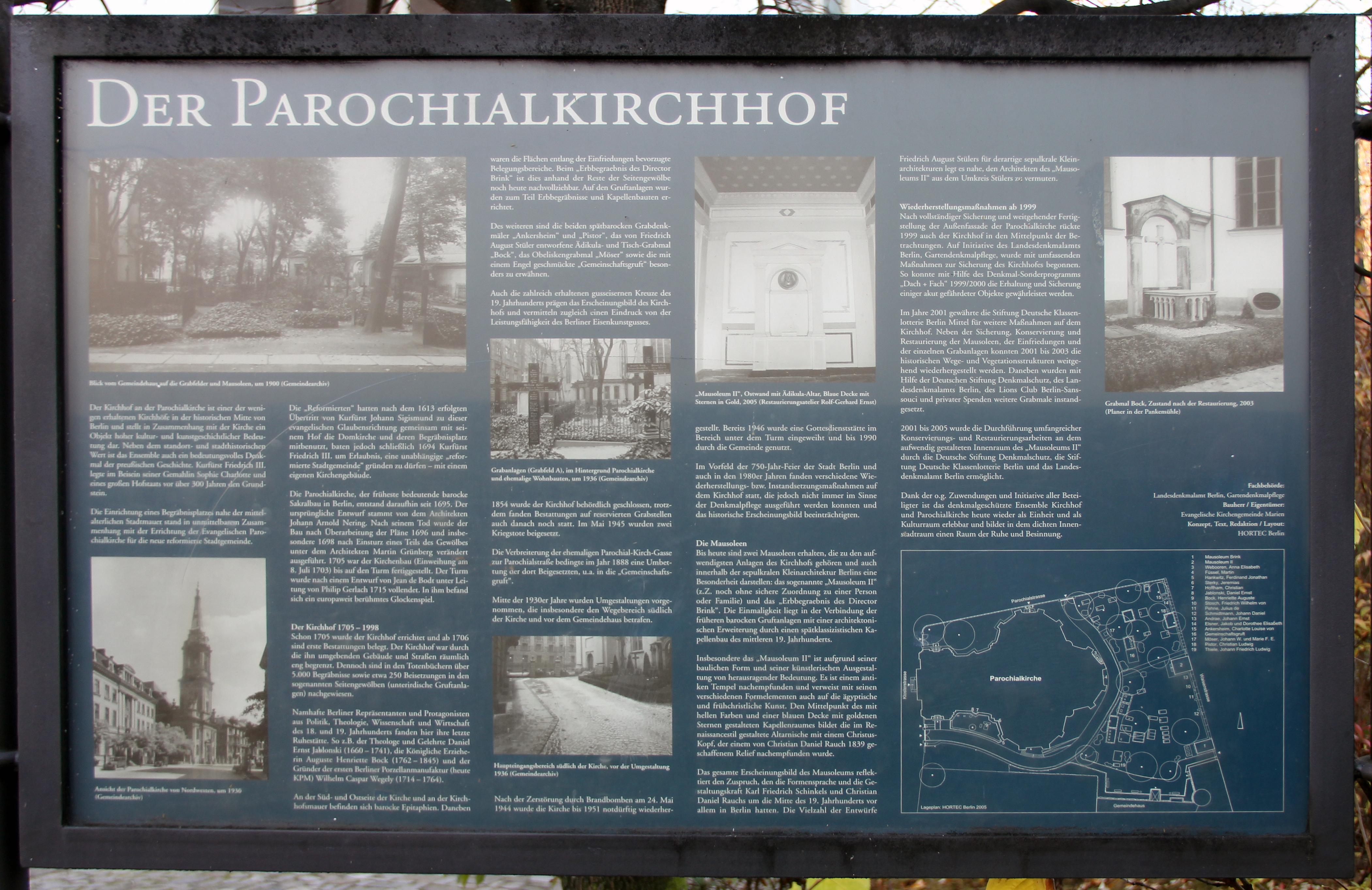 2efc28e2612737 File Gedenktafel Klosterstr 67 (Mitte) Parochialkirchhof.jpg ...