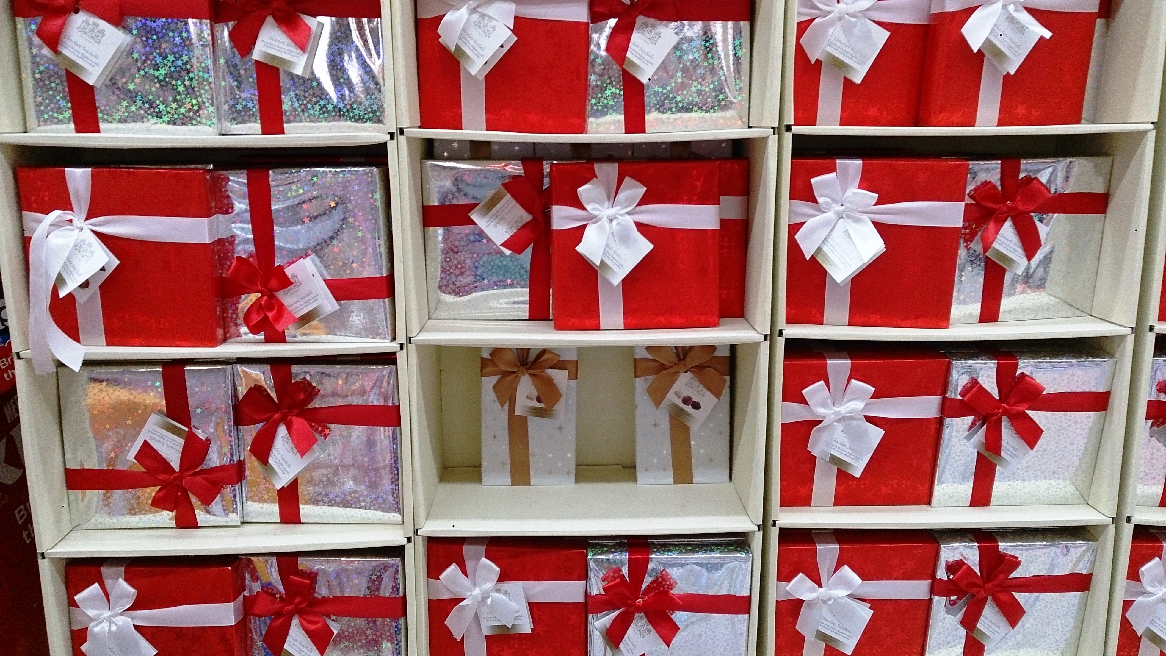 Workplace Gift Giving - Wall of Gifts