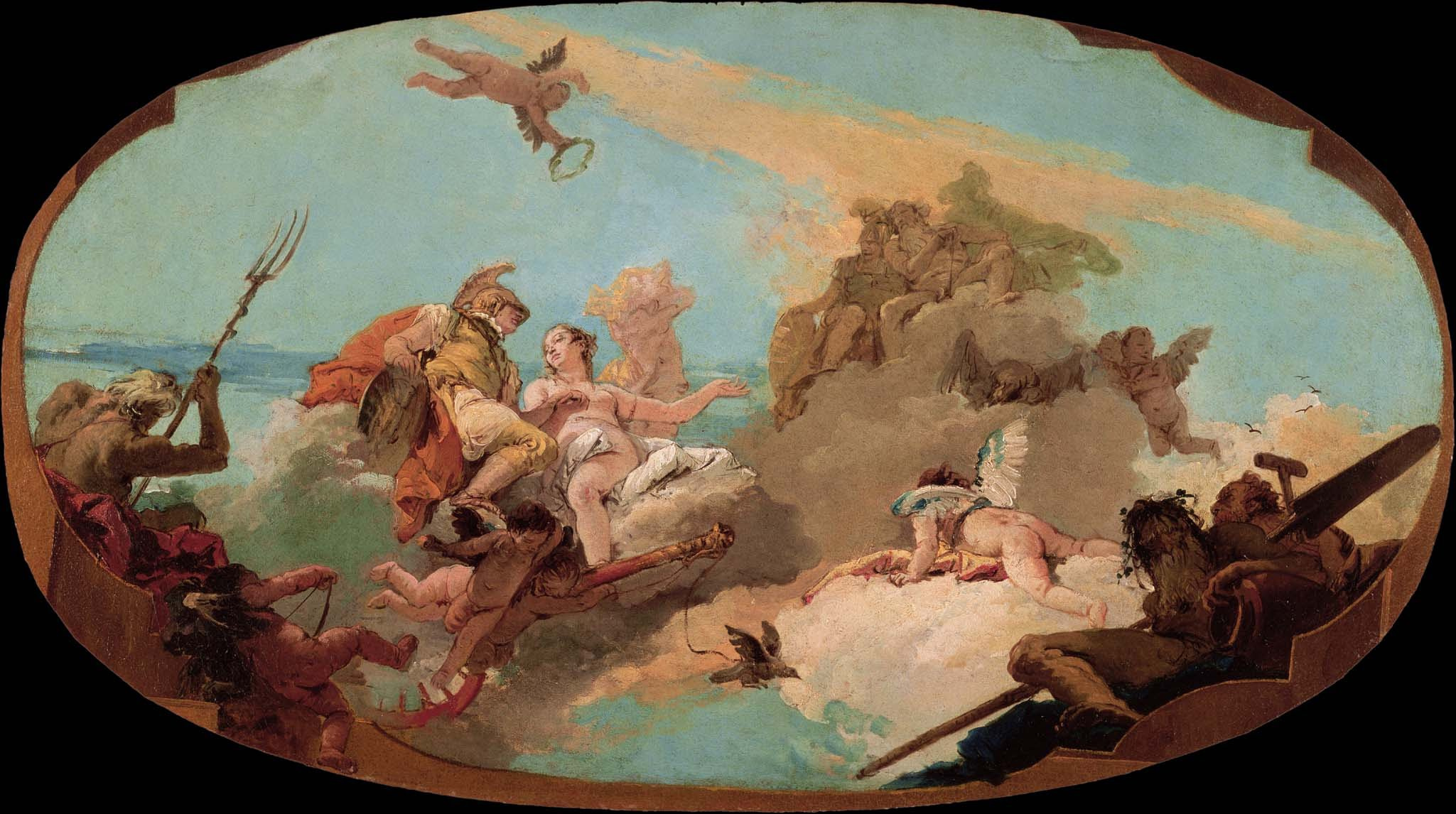 Giovanni Battista Tiepolo - The Apotheosis of Admiral Vettor Pisani - Google Art Project.jpg