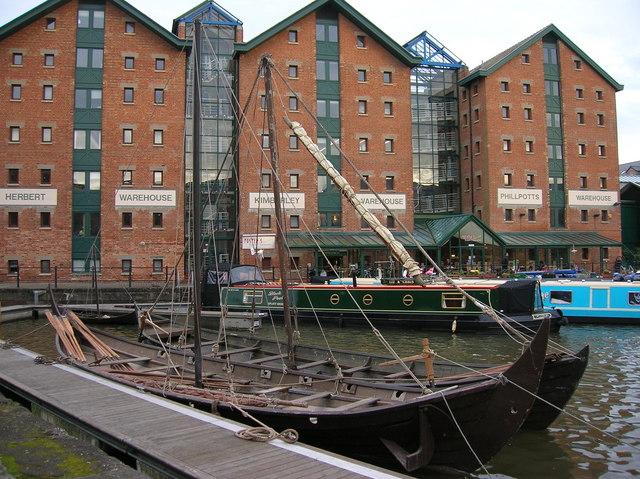 Gloucester, The Docks, Viking Boat - geograph.org.uk - 1097226