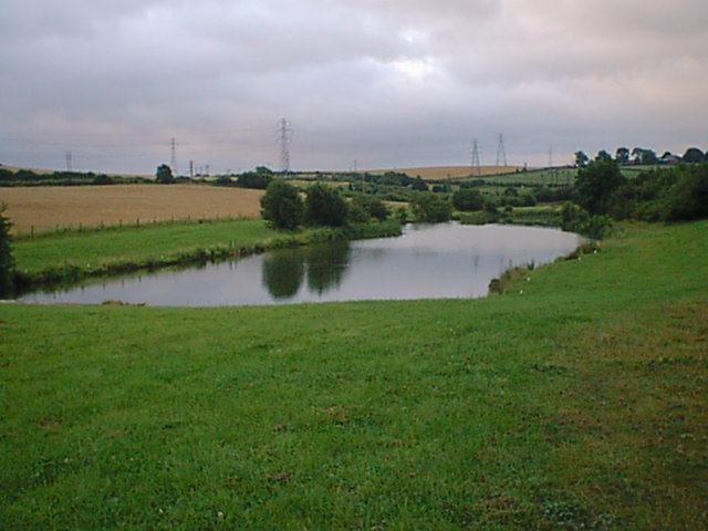 Grassmoor Country Park - Fishing Lake - geograph.org.uk - 314546