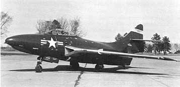 Grumman F9F-7 Cougar at the National Advisory Committee for Aeronautics in the 1950s.jpg A U.S. Navy Grumman F9F-7 Cougar used for tests by the