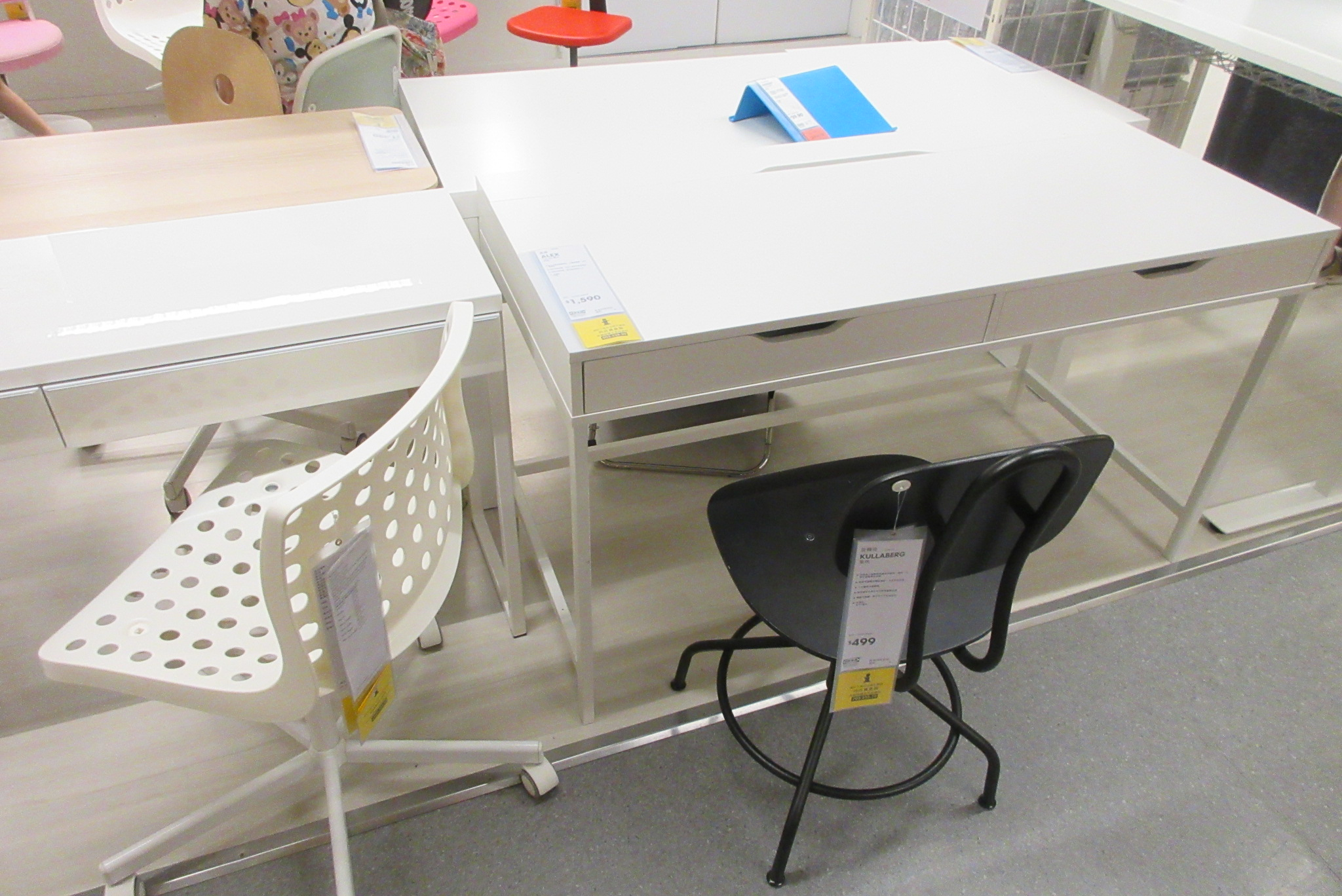 ikea office furniture desk. File:HK 銅鑼灣 CWB 宜家家居 IKEA Shop Office Furniture Table N Chairs July 2017 Ikea Desk
