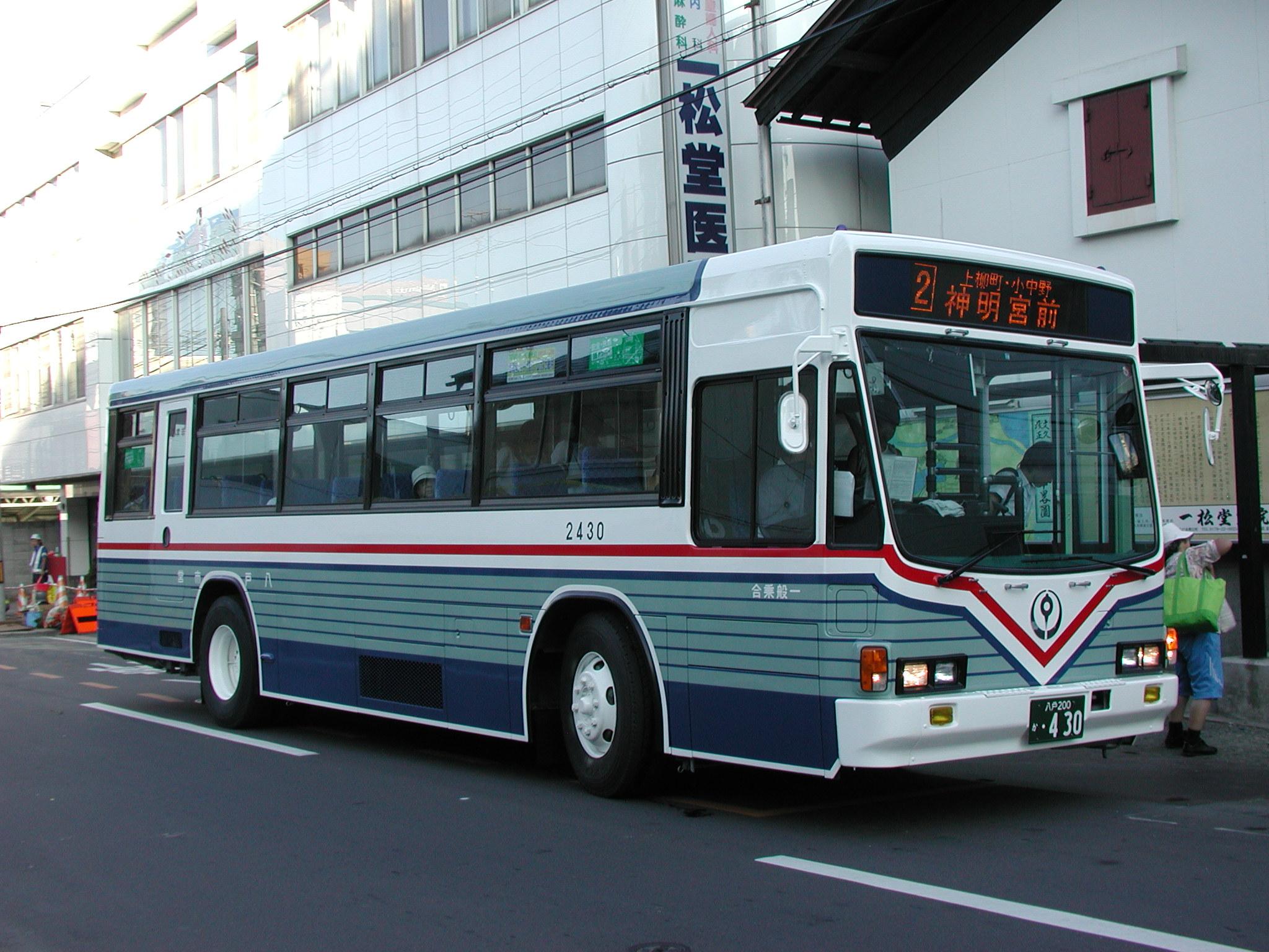 ファイル hachinohecitybus u lv324l no 2430 jpg wikipedia