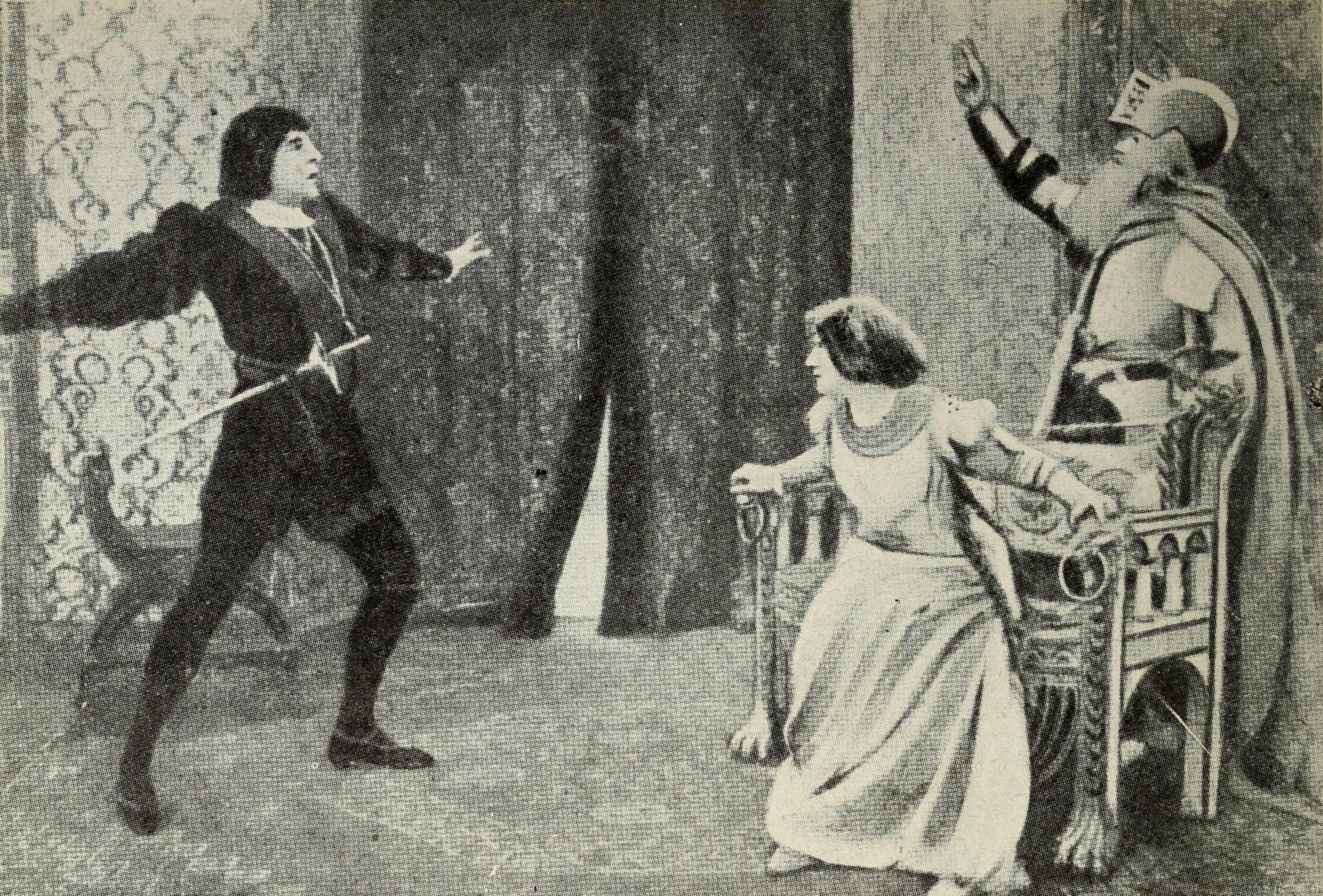 an analysis of the four main characters in the play hamlet An allegorical medieval play form, in which the characters represent abstractions (good deeds, death, and so on) and the overall impact of the play is moral instruction the most famous of these plays in english is the anonymous everyman (fifteenth century.