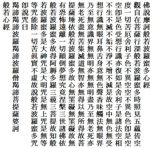 般若心経 - Wikipedia
