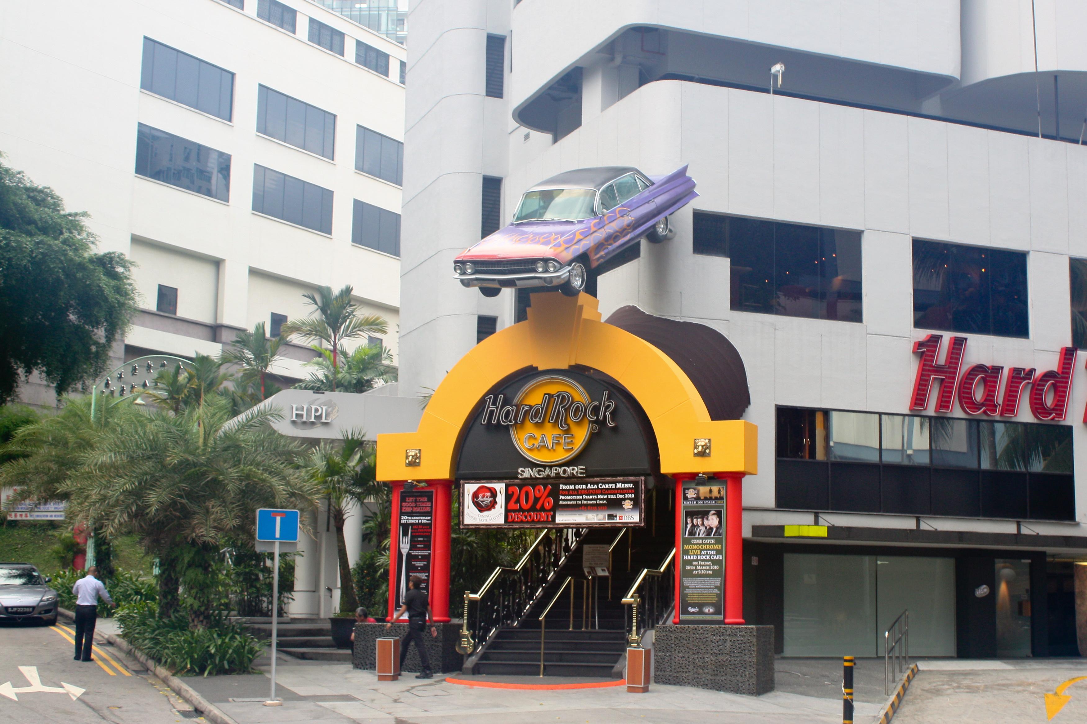 Hard Rock Cafe Singapore Location