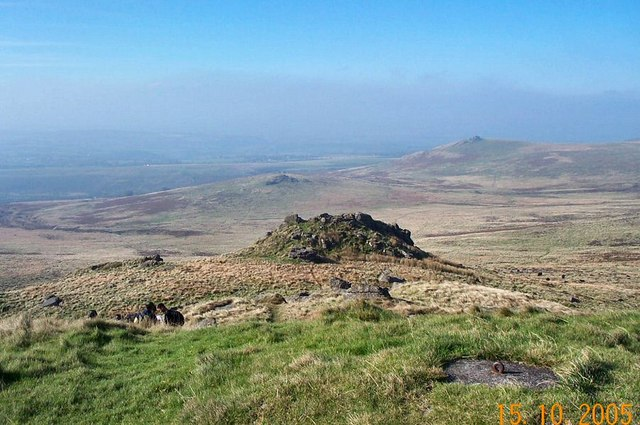 Hare Tor - Dartmoor - geograph.org.uk - 135728
