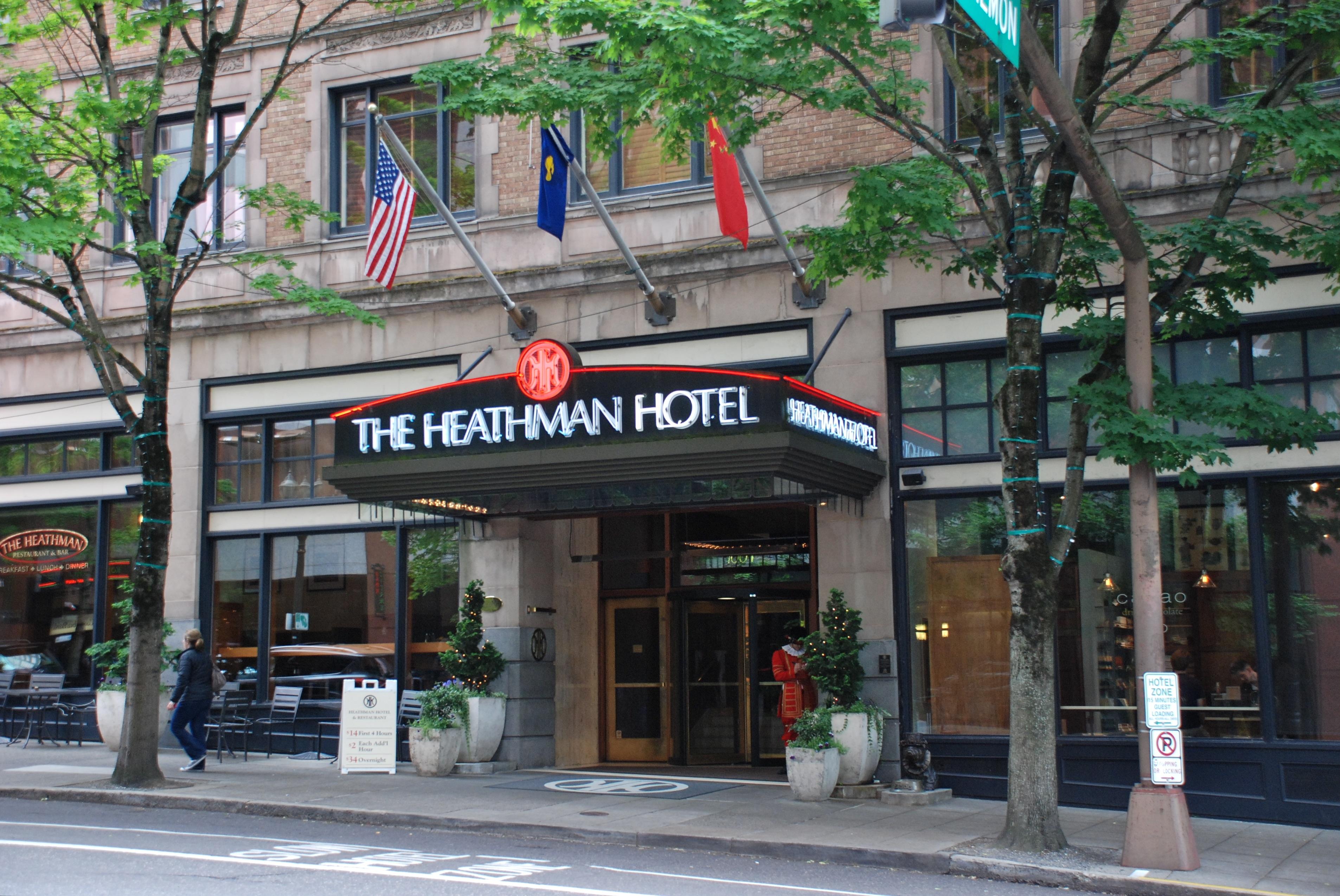 Heathman Hotel Portland Phone Number