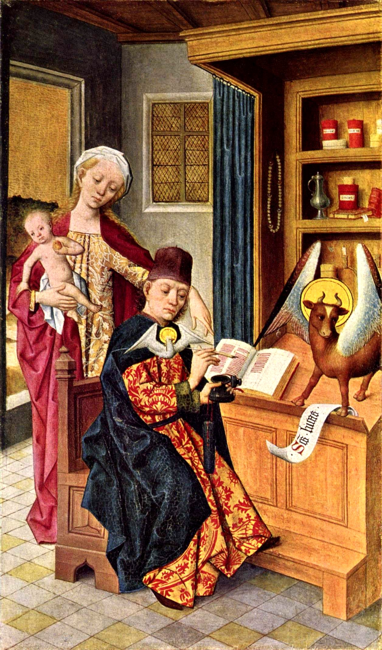Luke The Evangelist Wikipedia