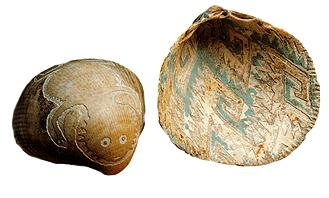 Hohokam shell etched