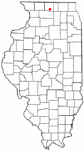 Location of Rockford, Illinois