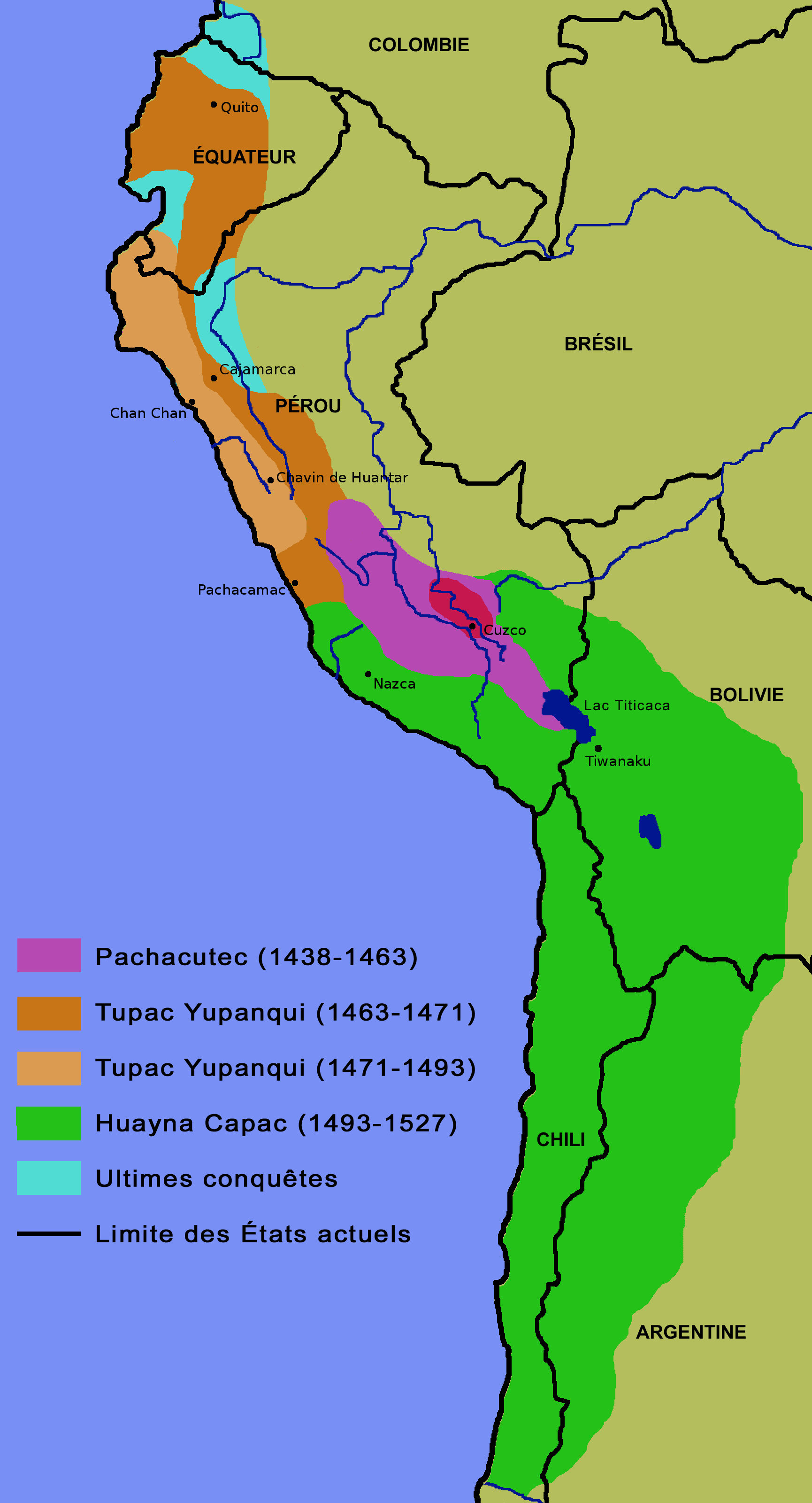 Inca expansion