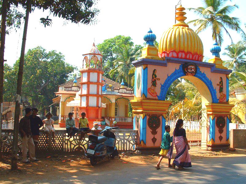 الهند ..... India_Goa_Hindu_Temp