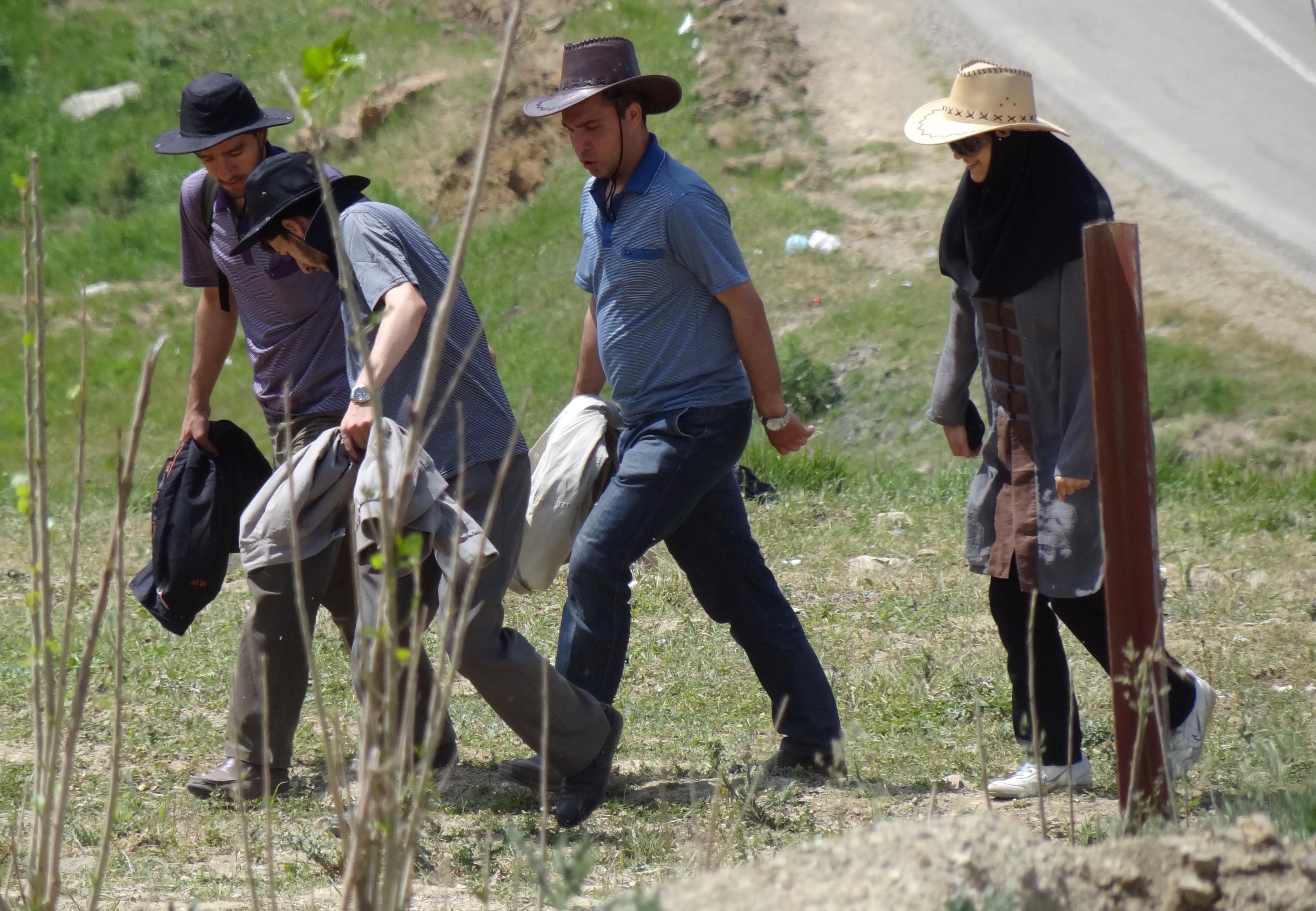 Hikers in Azerbaijan