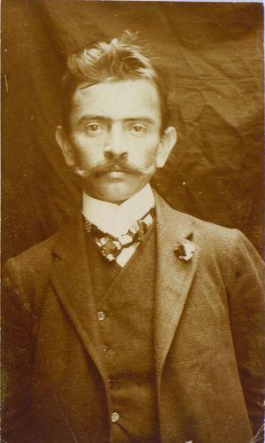 Ivan Cankar na klancu